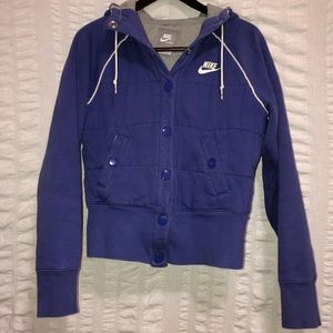 Nike Purple Quilted Jacket